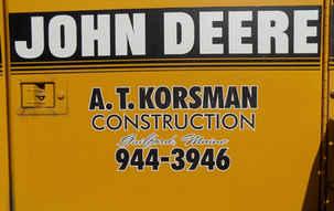 Vehicle Graphics Fleet Lettering Korsman