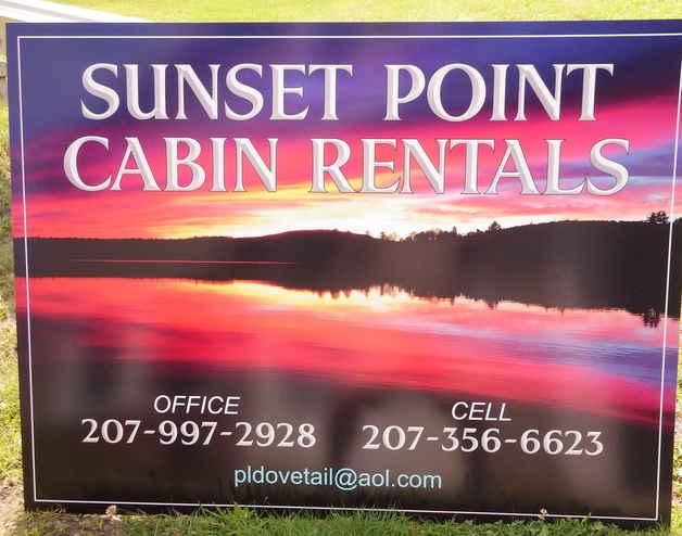 Flat Panel Plastic Digital Print Sunset
