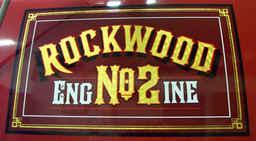 Vehicle Hand Painting Gold Leaf  Rockwoo