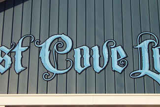 Flat Panel Hand Painted Letters West Cov