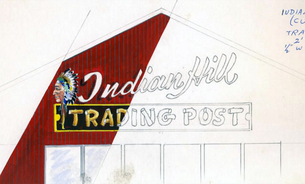 History Signs of the Past - Indian Hill