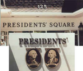 Dimensional Hand Painting Presidents Squ