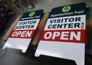 A Frame Sidewalk Sign Custom Open Sign t