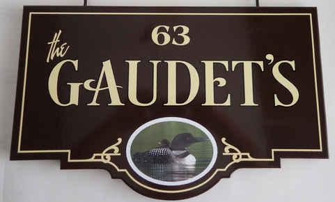 Flat Panel Digital Print Loon Gaudets tn
