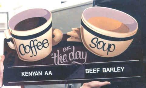 Flat Panel Hand Painting Coffee Cups tn.