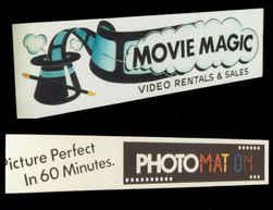 Illuminated Sign Movie Magic and Photoma