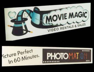 Illuminated Sign Movie Magic and Photoma