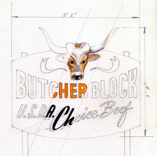 History Signs of the Past - butcher Bloc