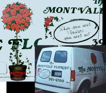 Vehicle Hand Painting Montvale Florist t