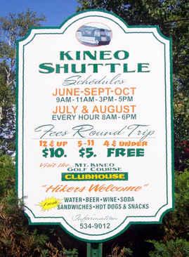 Custom Aluminum Street Sign Kineo Shuttl