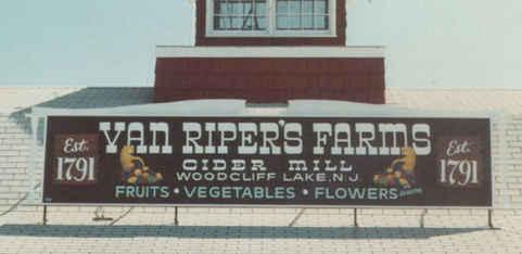 Flat Panel Hand Painting Van Ripers Farm