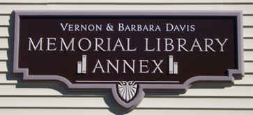 Dimensional Carved Business Sign Library