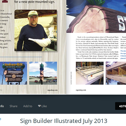 Sign Builder Illustrated - July 2013