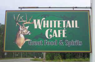 Flat Panel w Digital Print Deer Whitetai