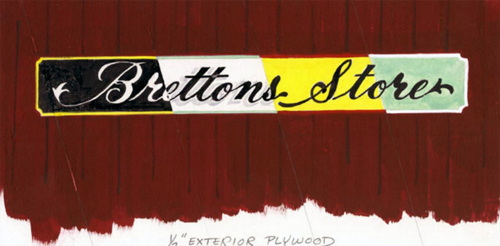 History Signs of the Past - brettons sto