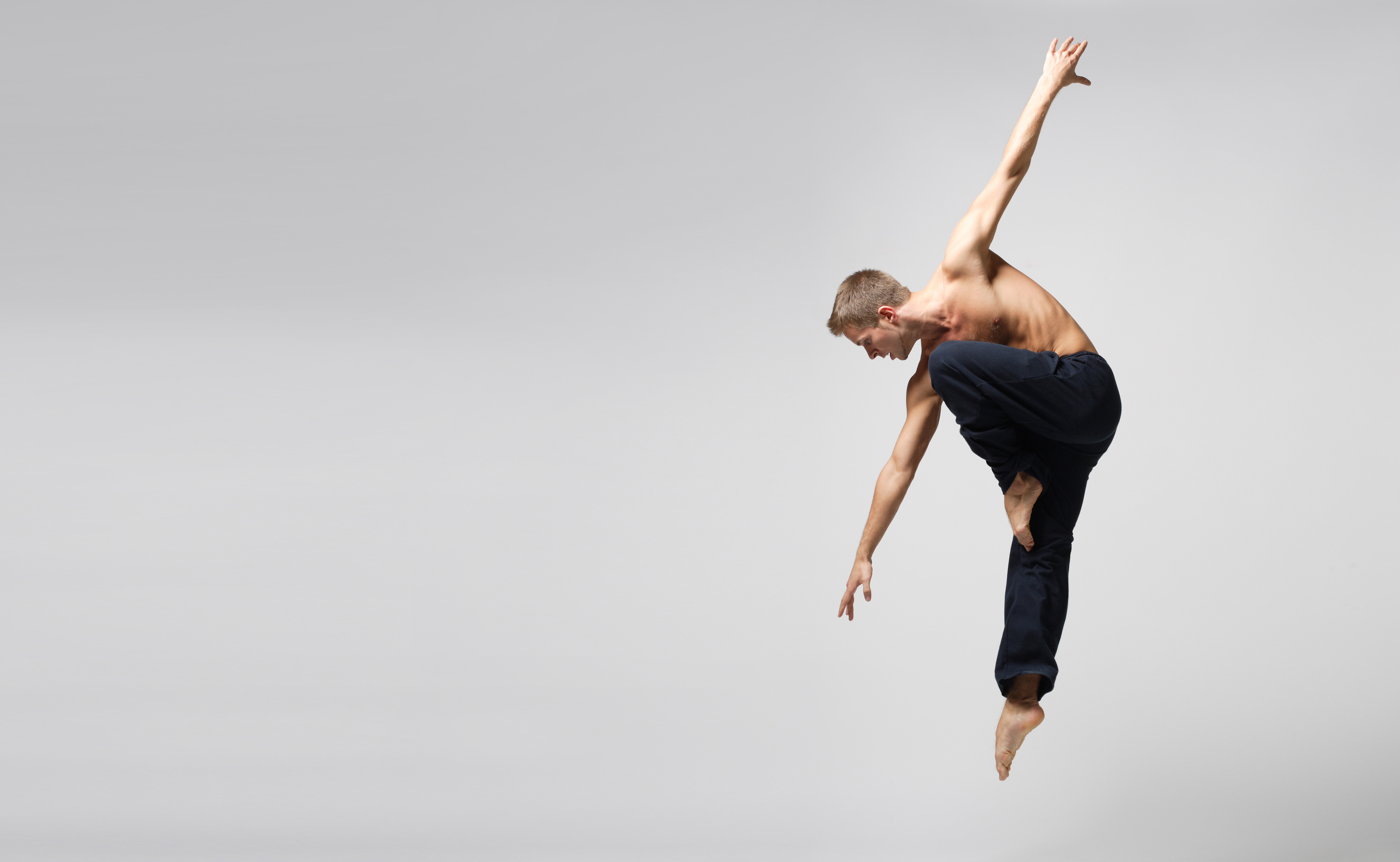 Modern Male Dancer