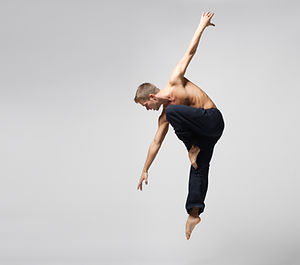 Modern Male Dancer