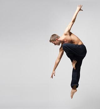 Bailarín moderno