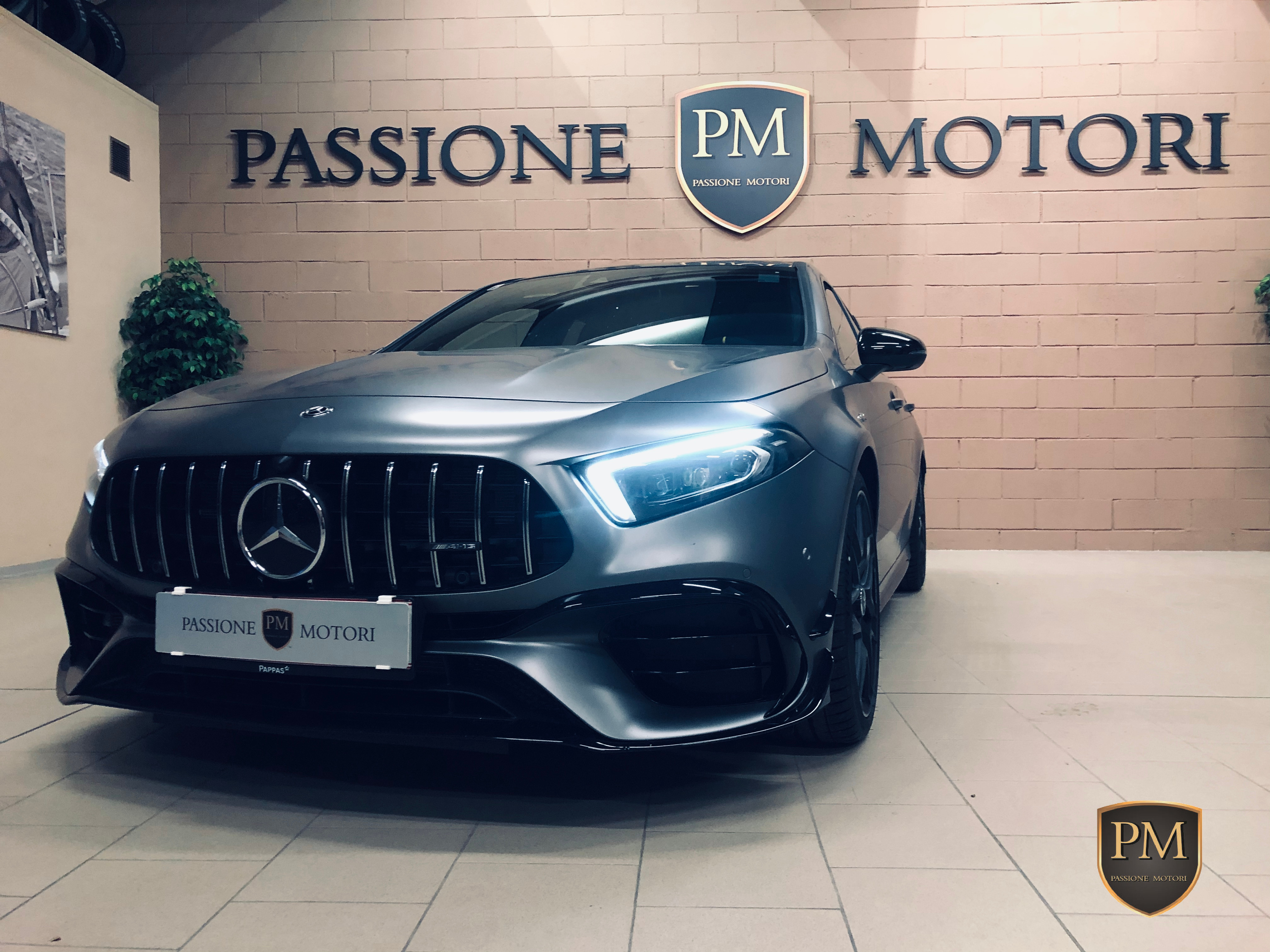 A45 S 4 MATIC +