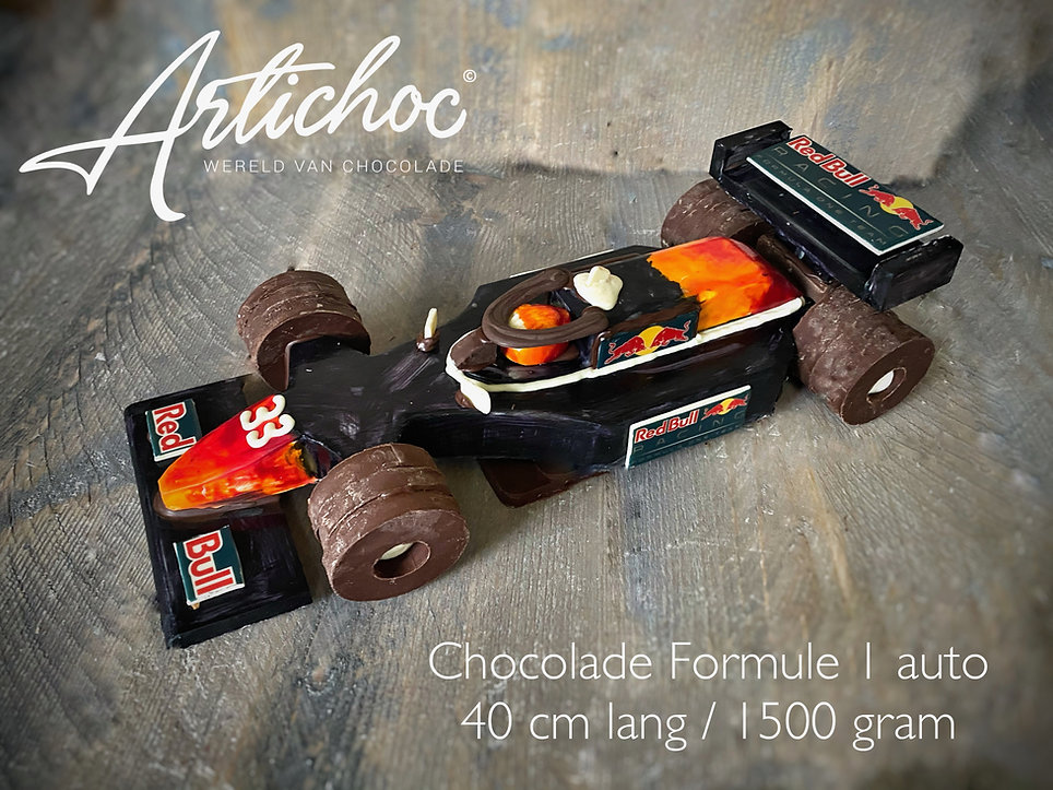 Chocolade Formule 1 auto XXL Red Bull