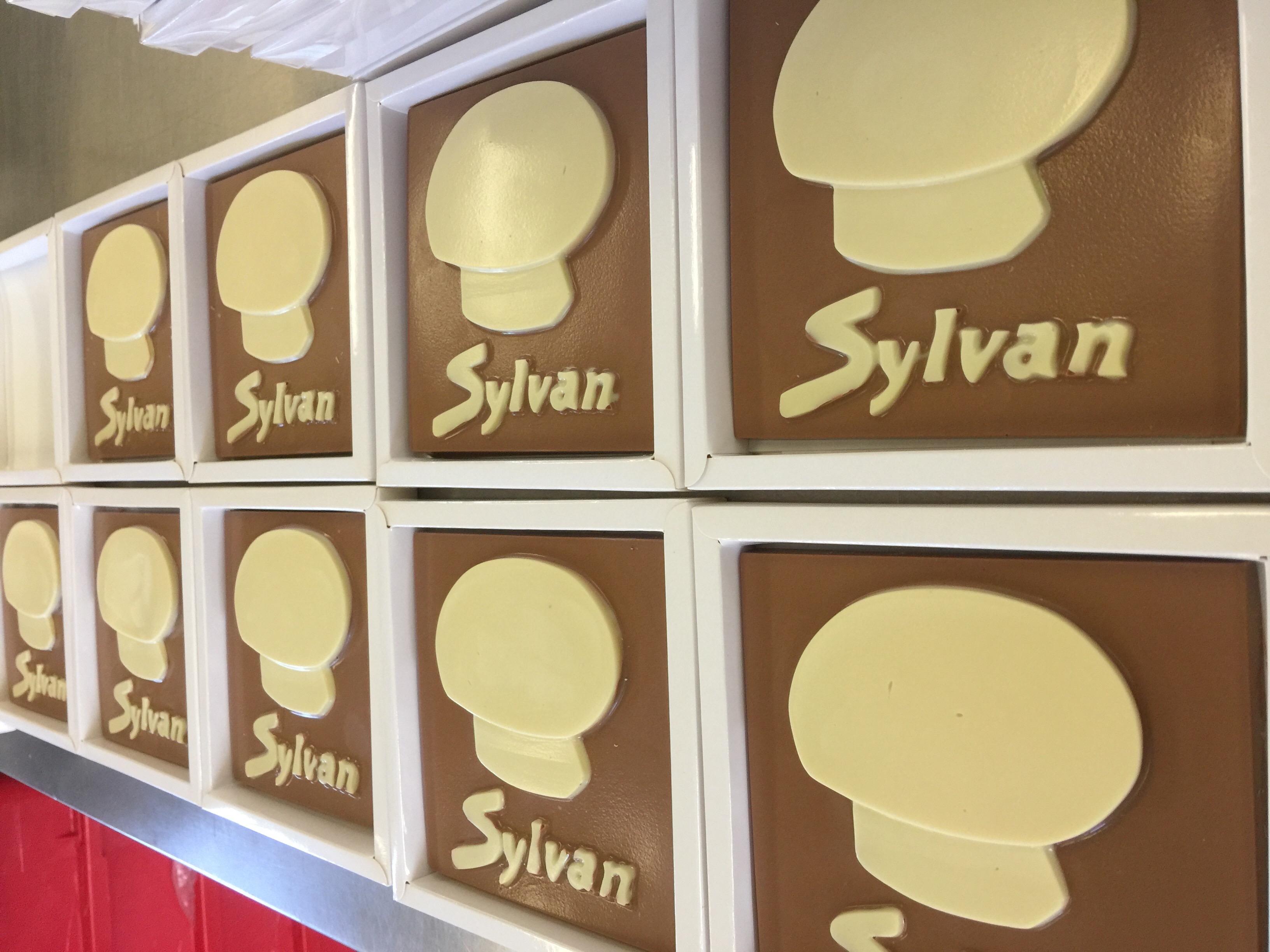 Logotablet voor Sylvan Champinons