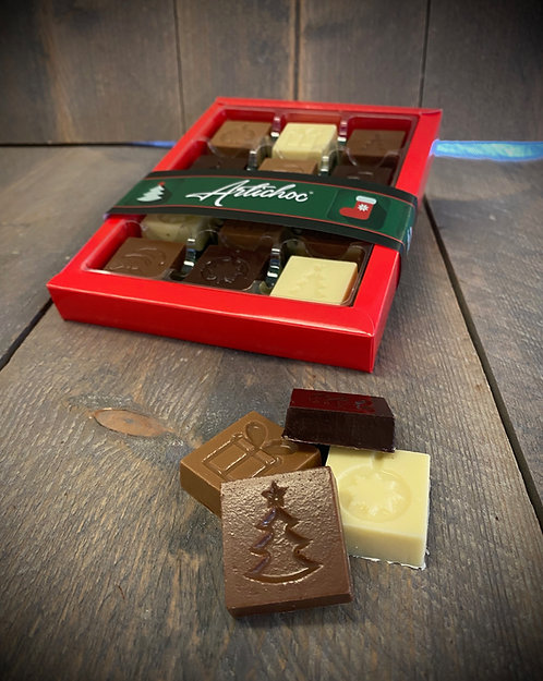 Kerstchocolaatjes 12 stuks