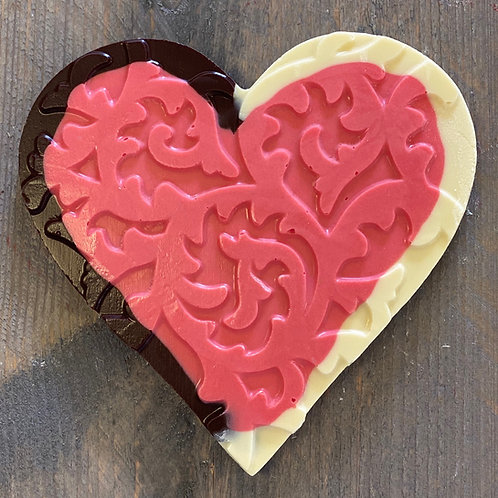 Chocolade hart enjoy