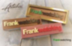 Frankwatching logo tablet