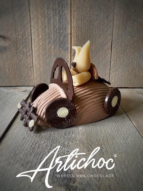 Chocolade paas auto