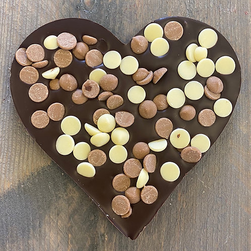 Chocolade hart Drops