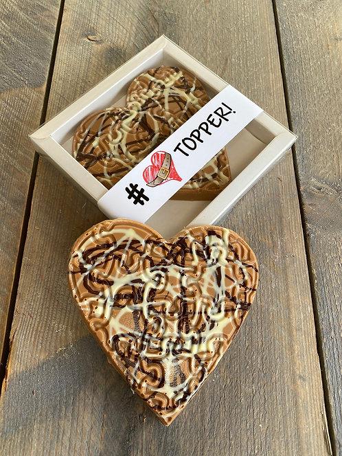 Chocolade hart spaghetti klein