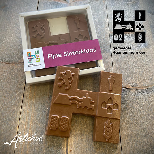 Chocoladeletter eigen ontwerp
