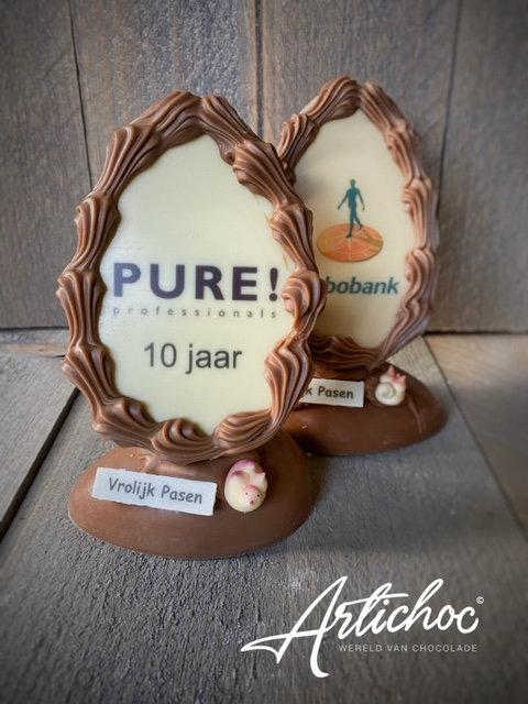 Chocolade logo paasei