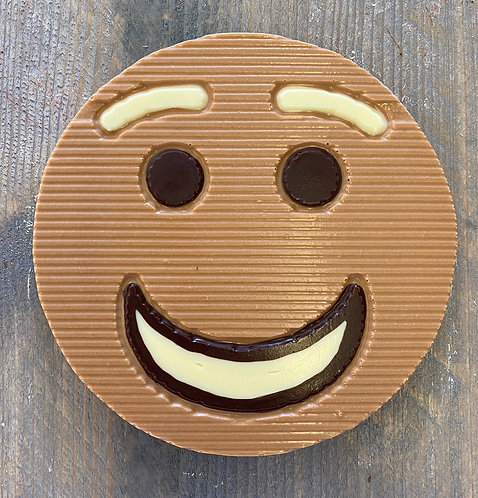 Chocolade smiley