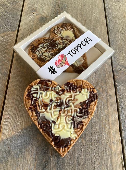 Chocolade hart artco klein