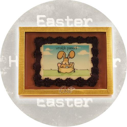 Chocolade paas tablet met logo