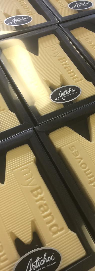 Chocoladeletter My Brand op maat