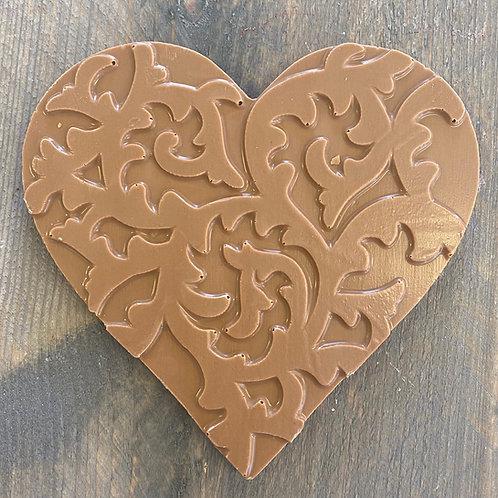 Chocolade hart standaard