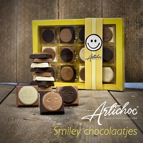 Luxe doos Smiley chocolaatjes