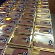 Heijmans infra chocoladeletter