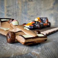 chocolade formule 1 auto