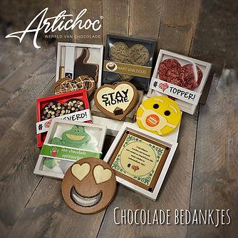 Chocolade bedankjes