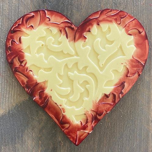 Chocolade hart duo love