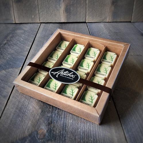Logobonbons 16 stuks in luxe doos
