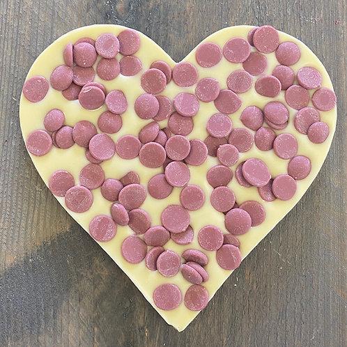 Chocolade hart Ruby