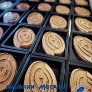 Chocolade logo Ahlmann Nederland