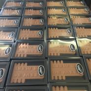 Chocoladeletter TNO op maat.