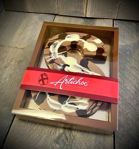 Chocoladeletter Artco XL 350 gram
