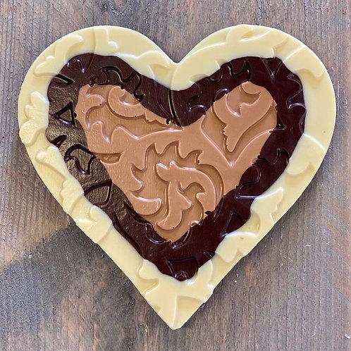 Chocolade hart romantic