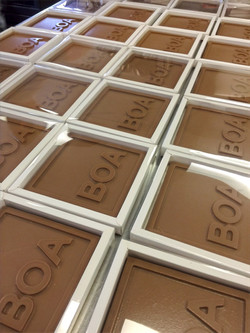 BOA chocolade tablet